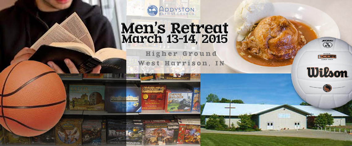 Men's Retreat 2015