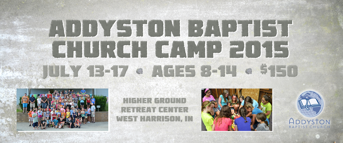 Camp 2015 Coming Soon