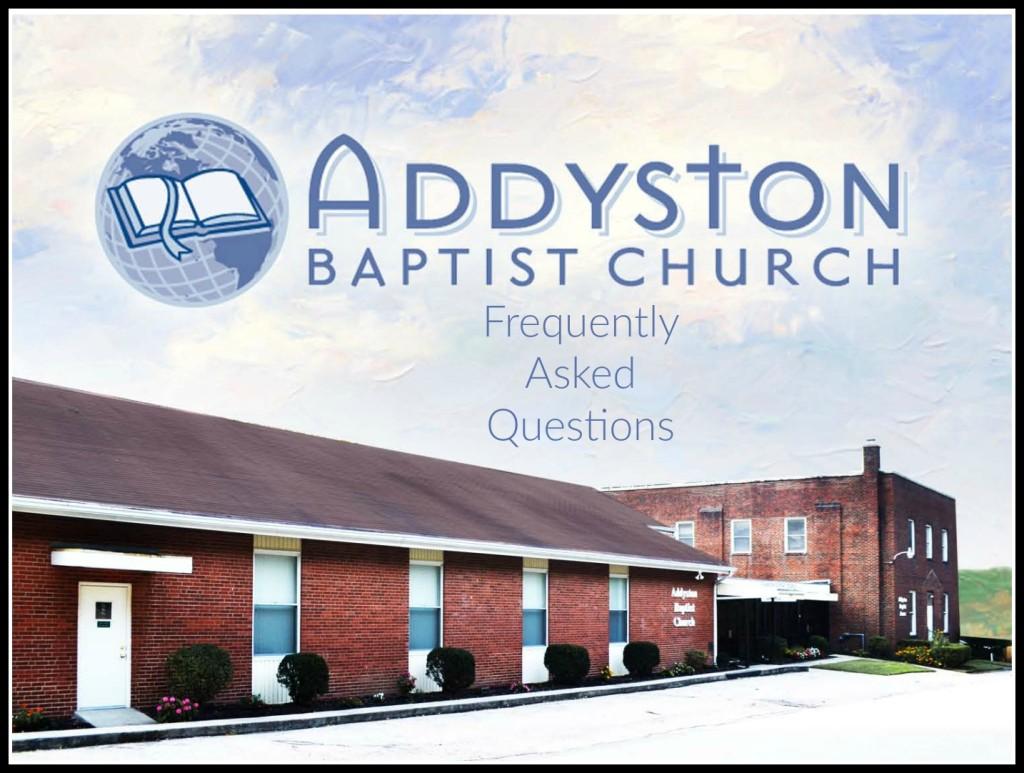 addyston baptist faq