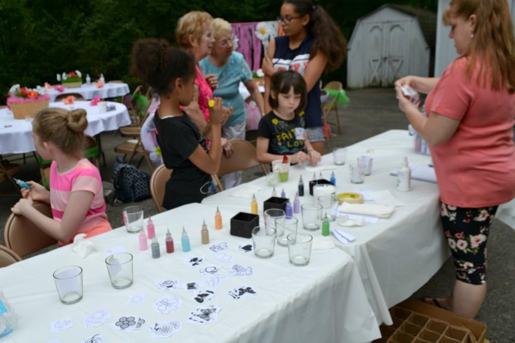 bloom glass painting girls